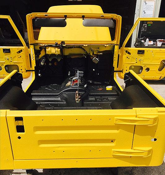 Overbuilt Customs Jeep Custom paint