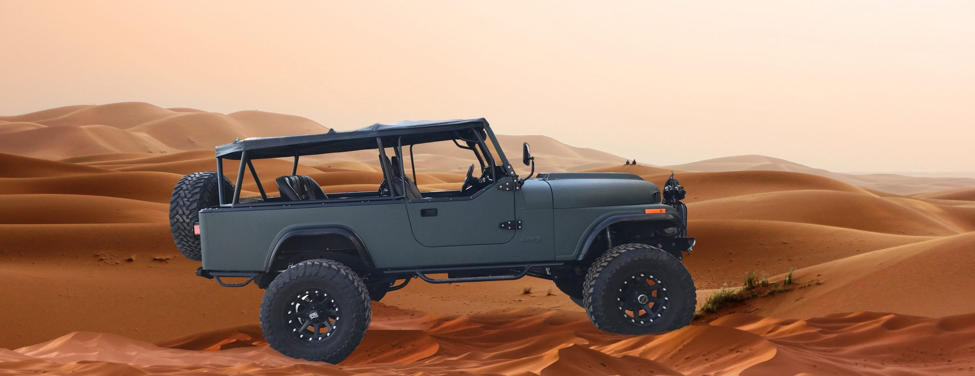 Jeep CJ Scrambler