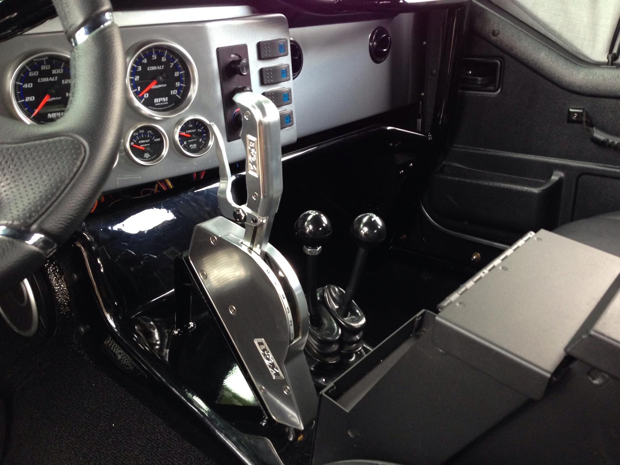 Overbuilt Customs Jeep Interior