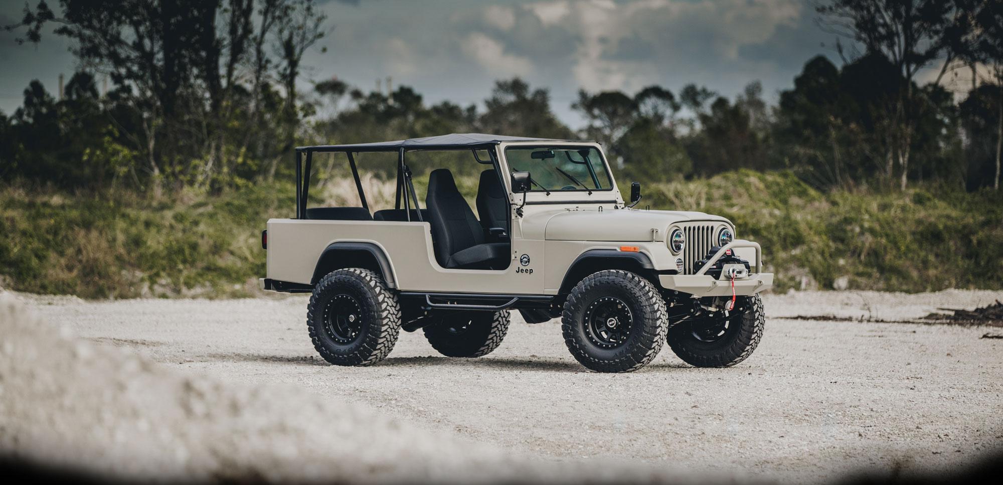 Overbuilt jeep restoration