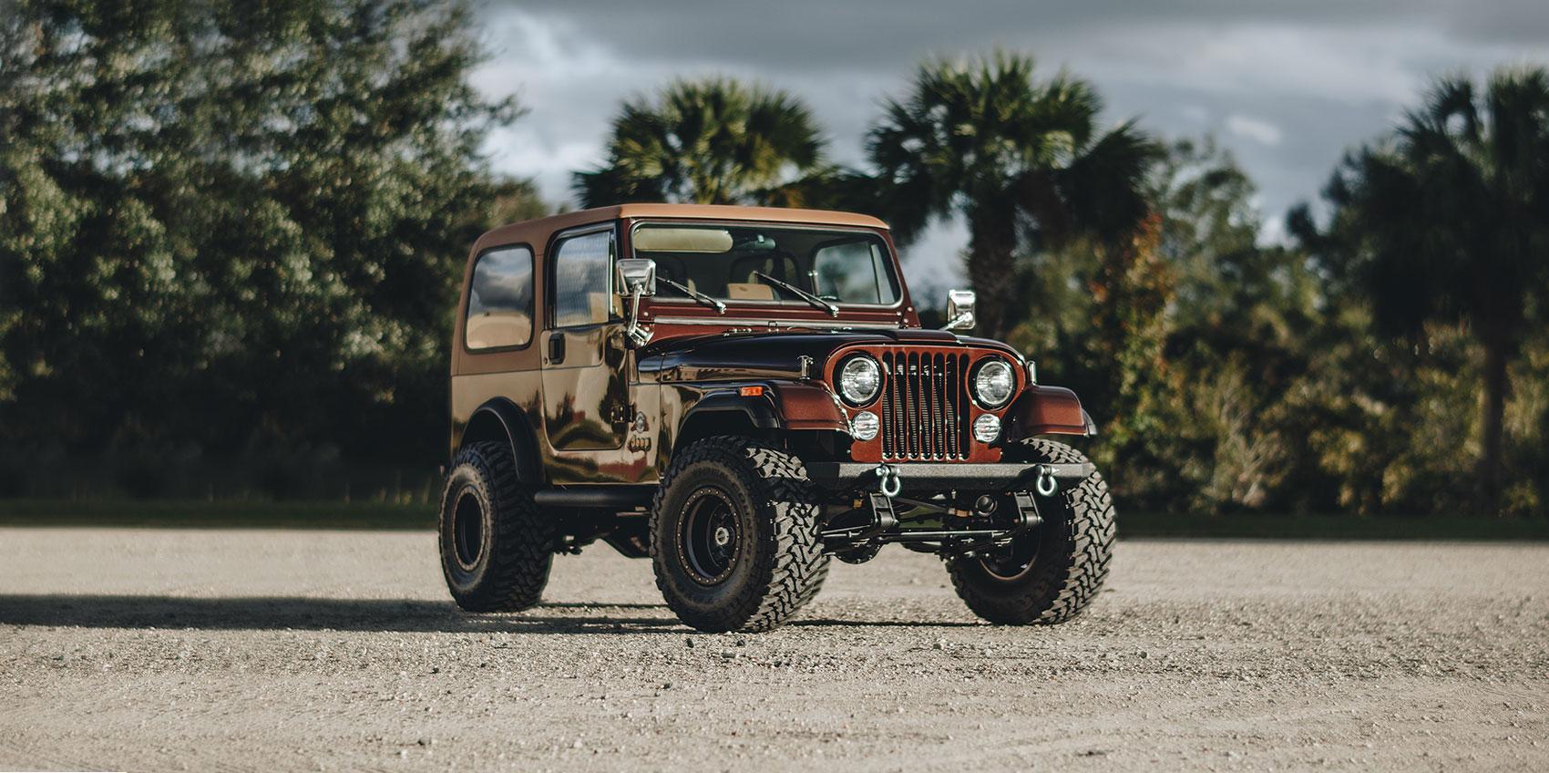 1984 Brown Jeep CJ7